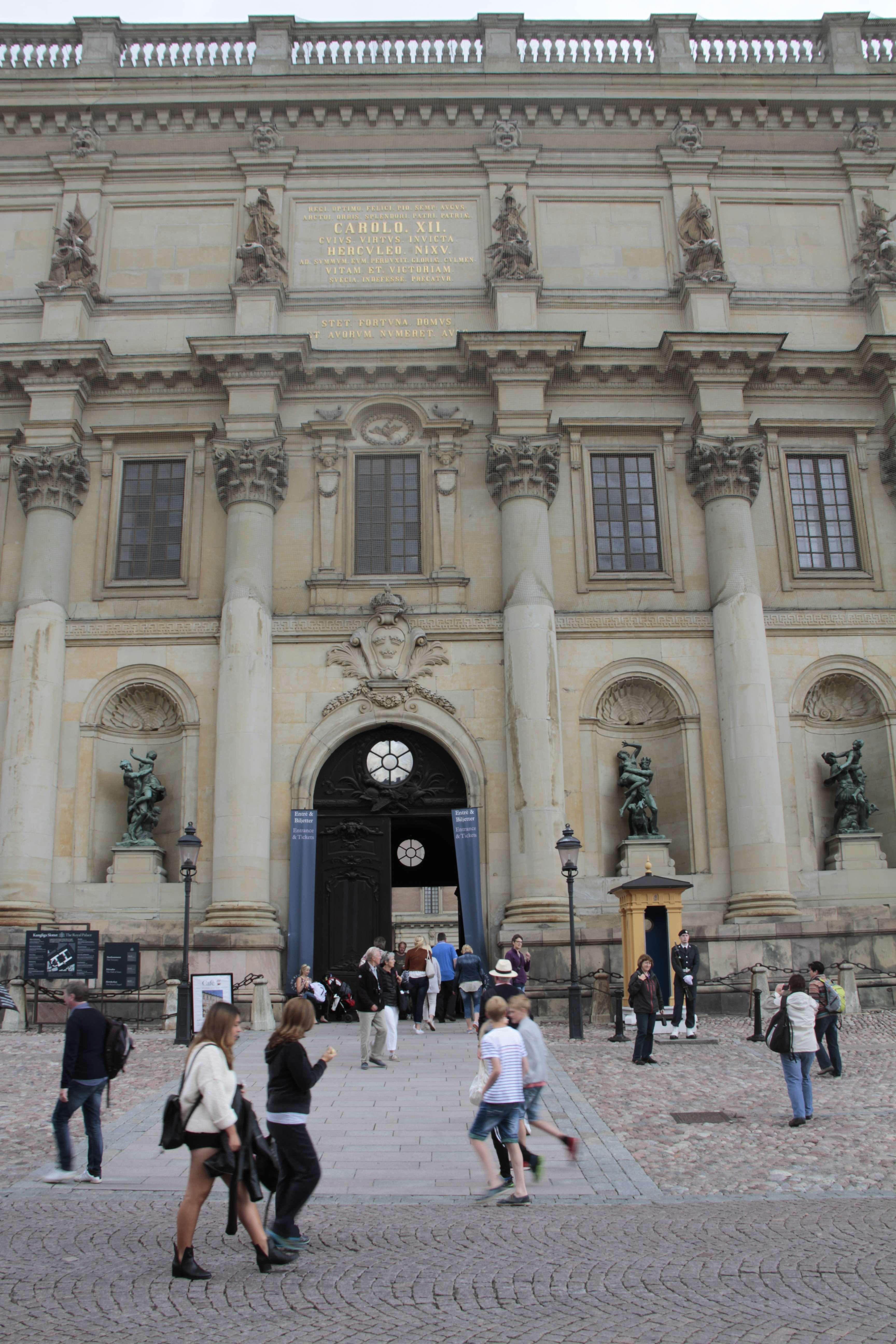Suede_0012 Stockholm Gamla Stan palais royal