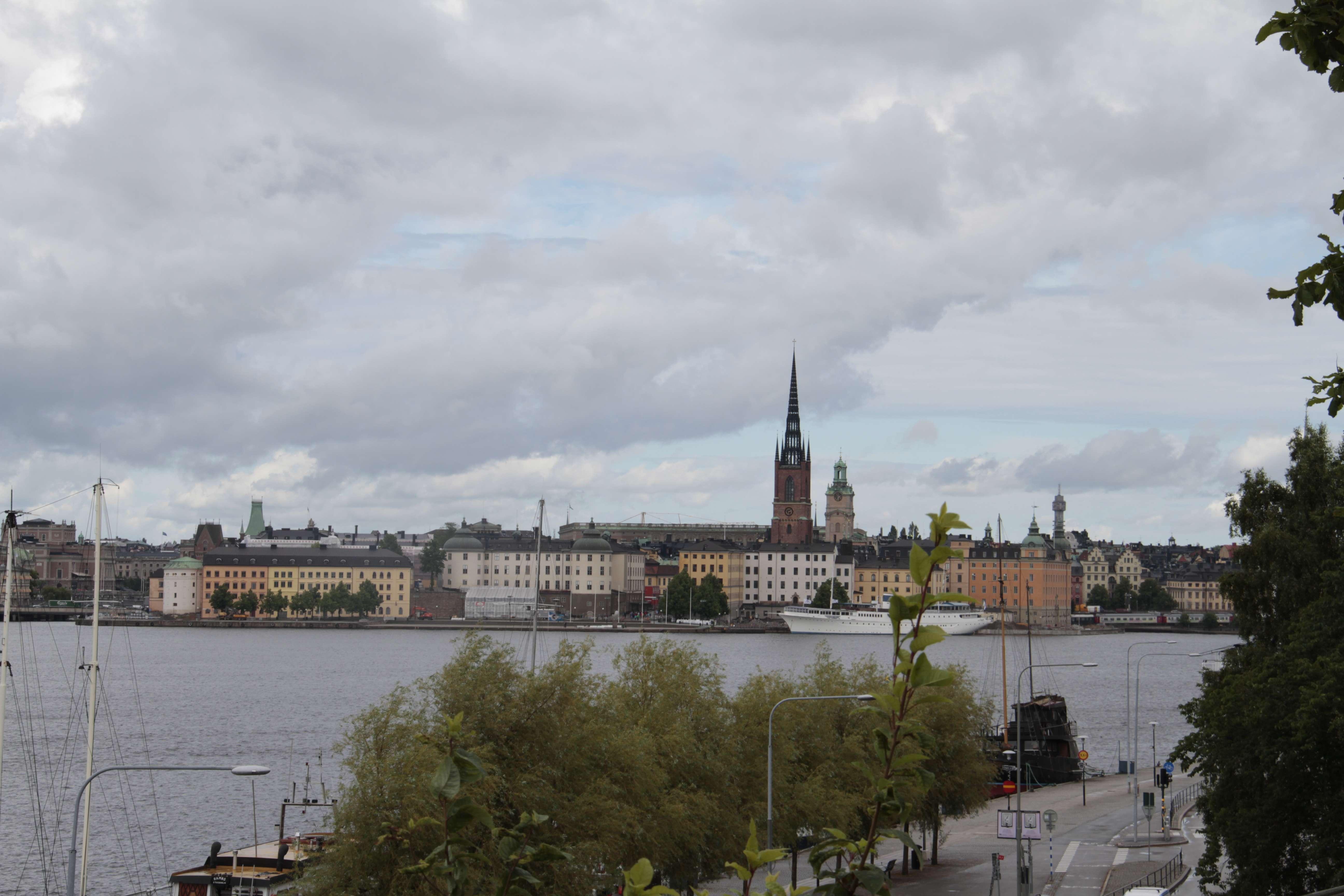 Suede_0139 Stockholm Sodermalm vue sur Kungsholmen