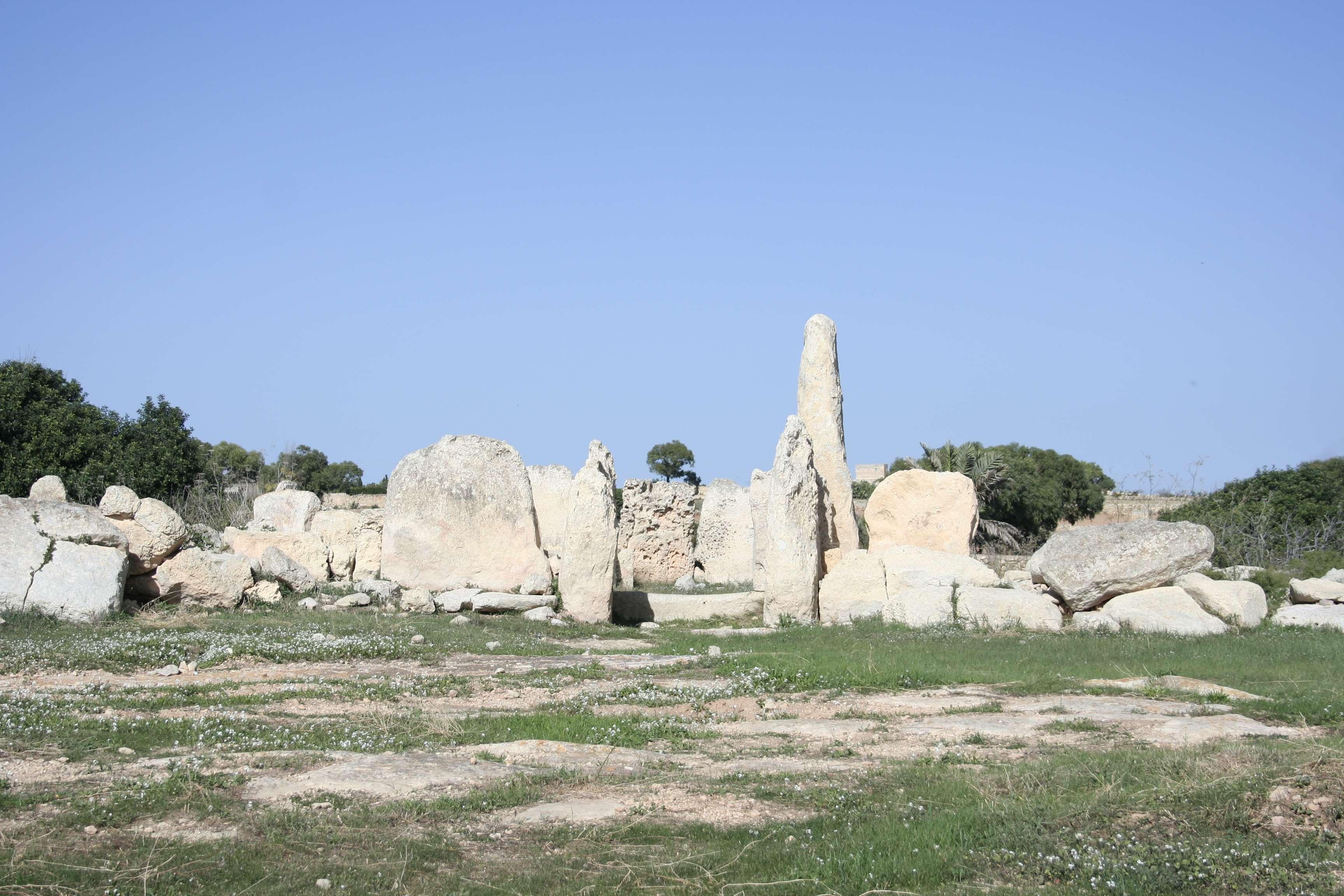 Malte 5272 Hagar Qim Neolithic Temple