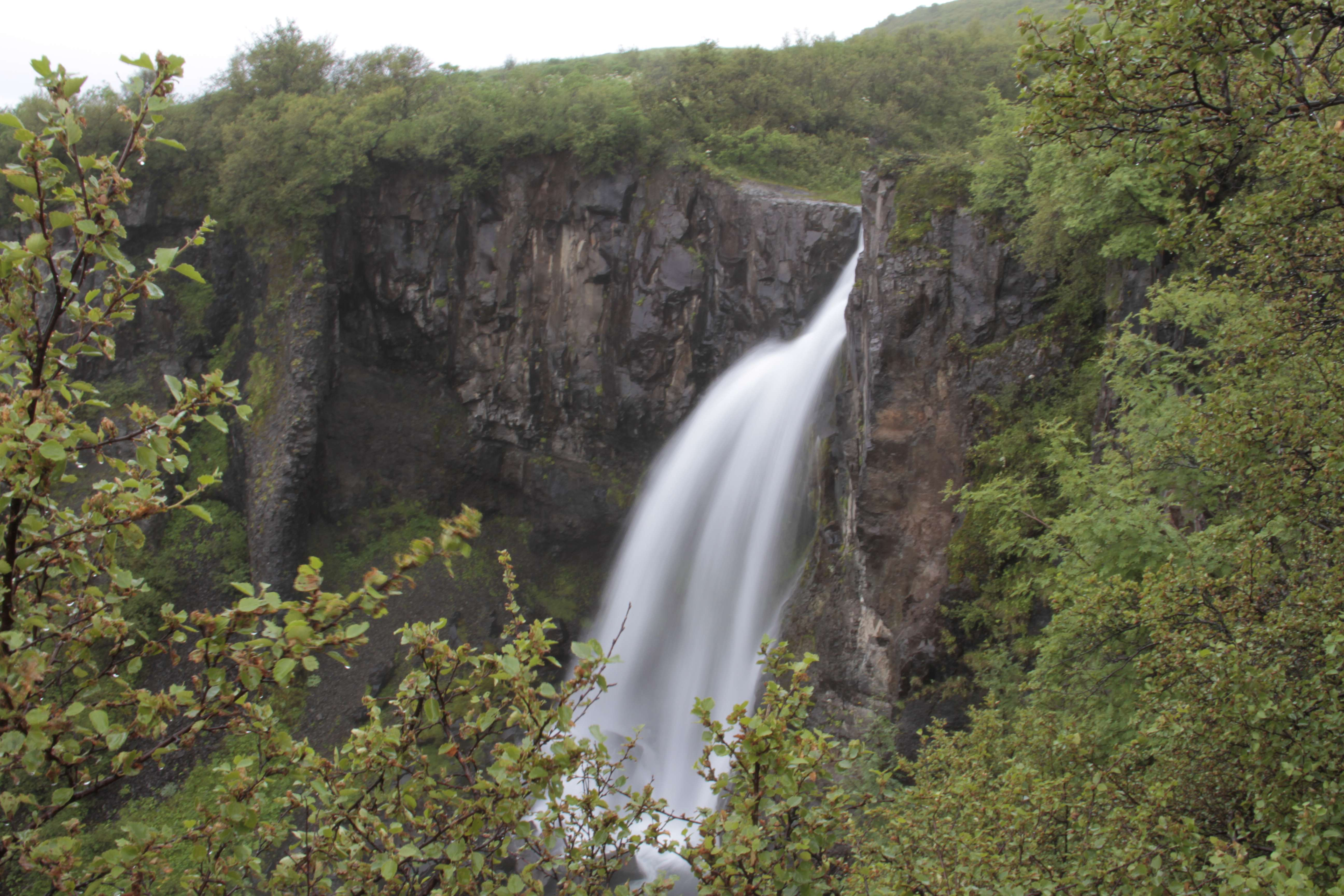 Islande_0448 route Hofn-Hella - Skaftafell Hundafoss 15 juillet
