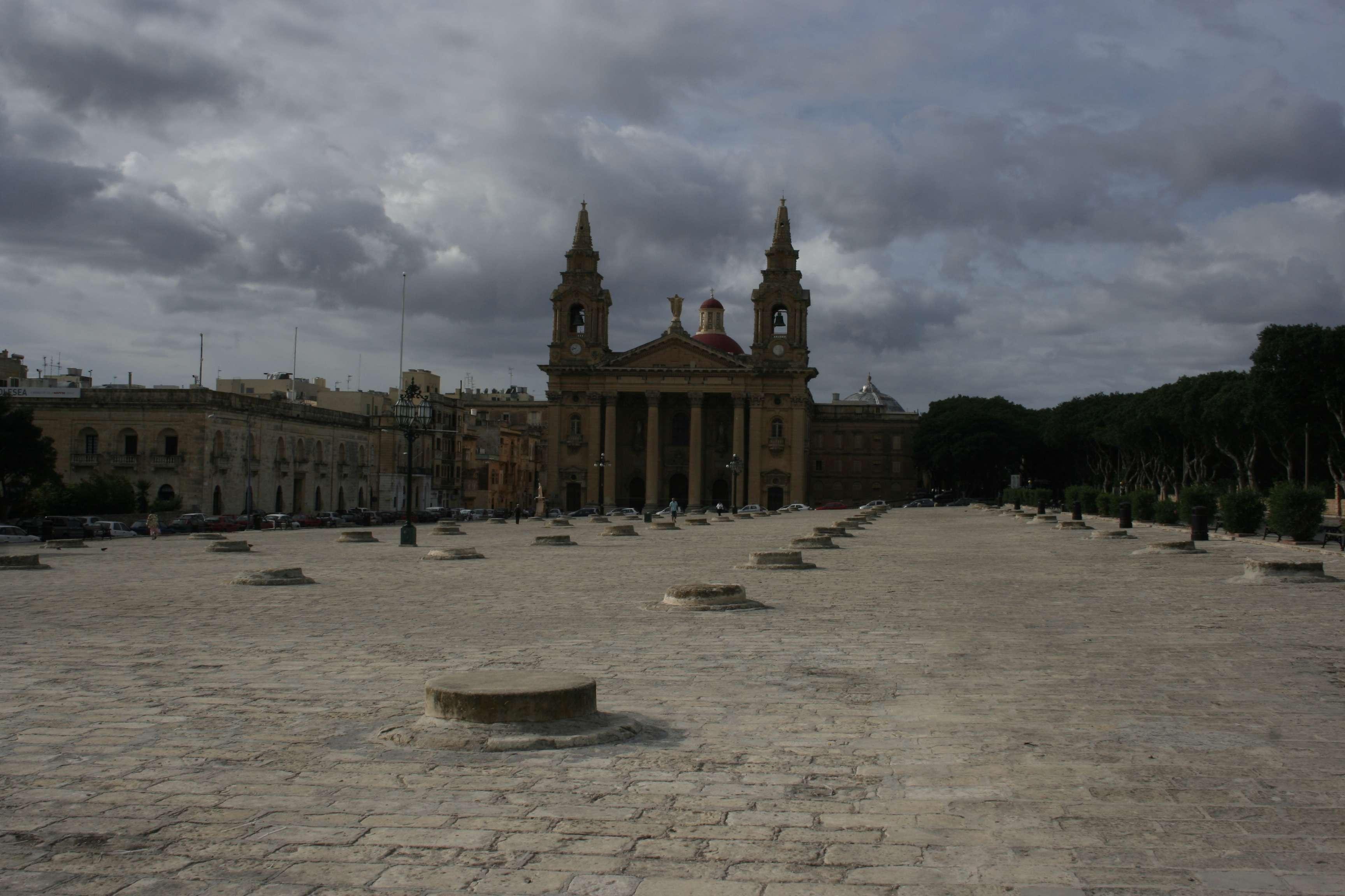 Malte 4892 La Valette eglise St Publiju
