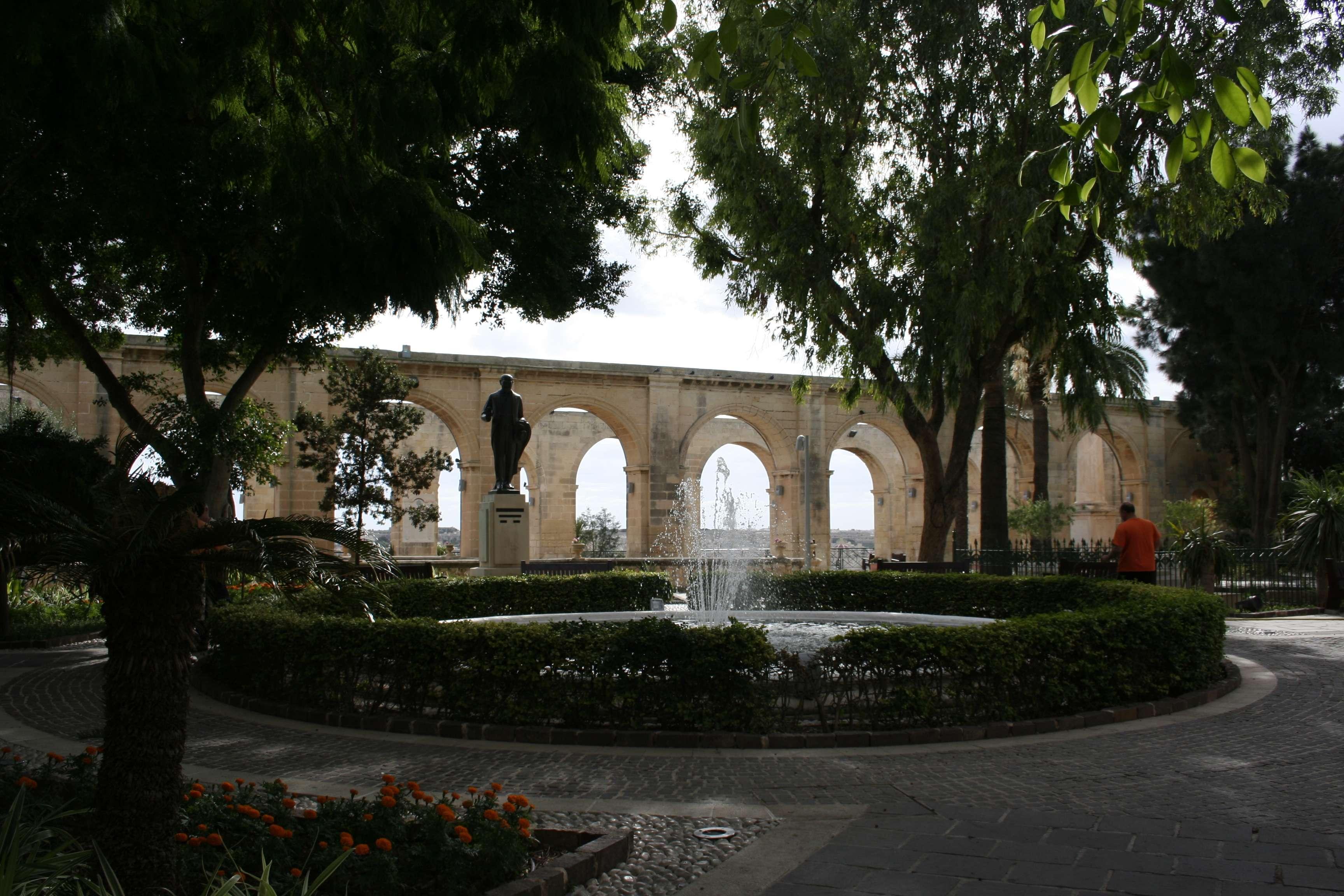 Malte 4914 La Valette Upper garden