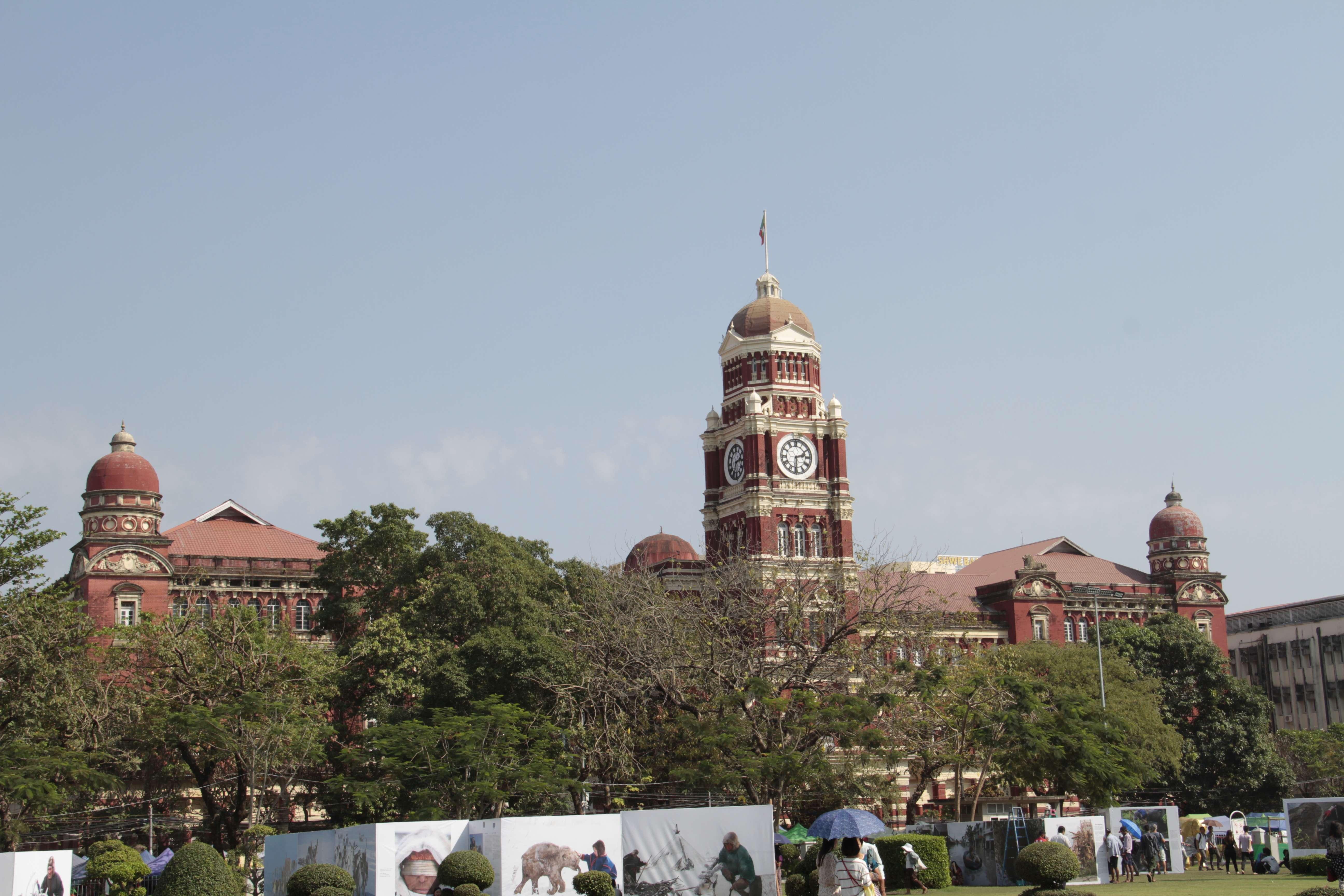 Myanmar fevrier 2019_0021 Yangon palais de justice