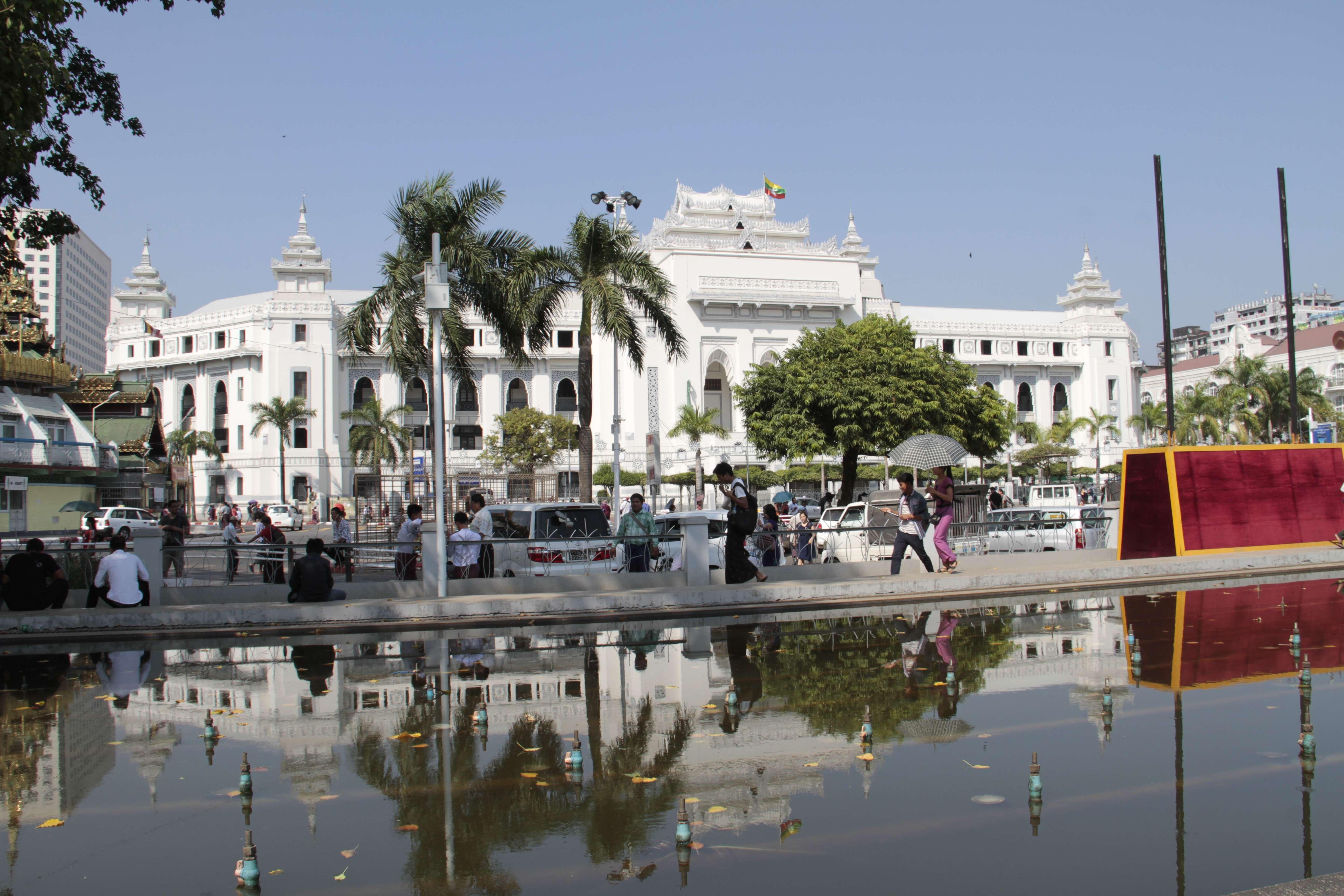 Myanmar fevrier 2019_0023 Yangon mairie