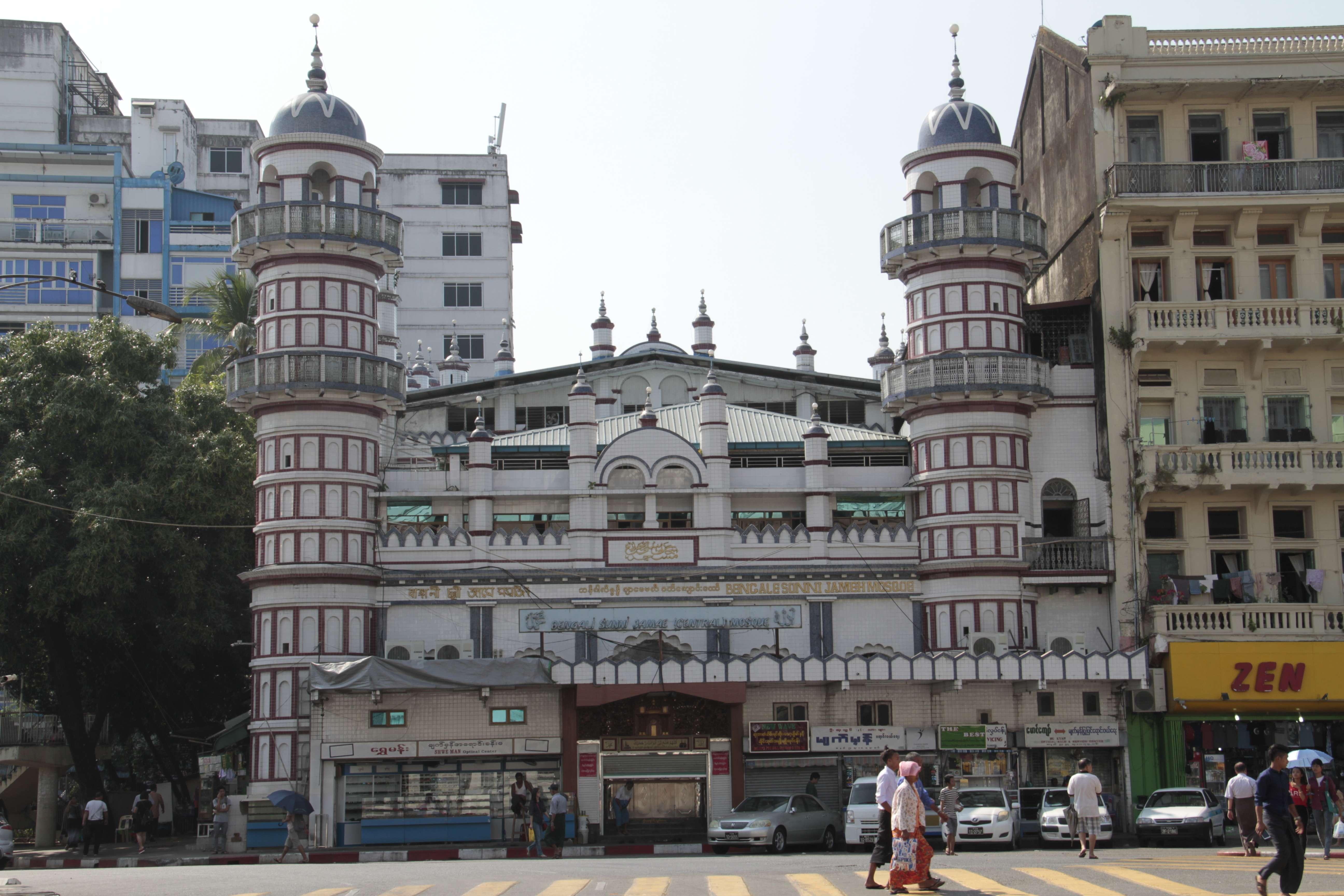 Myanmar fevrier 2019_0025 Yangon mosquee